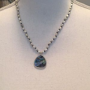 Kenneth Cole bright stone necklace